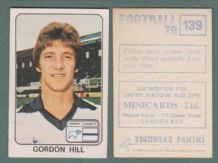 Derby County Gordon Hill England 139
